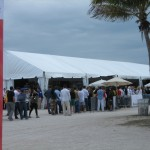 SOBE Food & Wine Festival Entrance