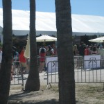 Starting the Festival at the Tents